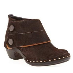 MERRELL Luxe Button Ankle Boot, Espresso